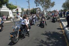 San Diego Gay Pride Parade Stock Images