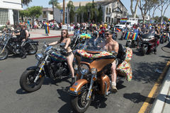 San Diego Gay Pride Parade Stock Photo