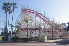 San Diego Gigantyczna chochla przy nadmorski Belmont parkiem Zdjęcia Royalty Free