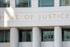San diego hall of justice Stock Image