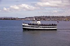 San Diego Harbor Cruise. This is a picture of a San Diego harbor cruise ship Royalty Free Stock Photography