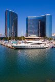 San Diego Harbor and downtown Royalty Free Stock Photo