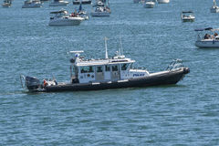 San Diego Harbor Police boat stock photography