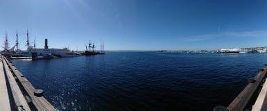 San Diego Harbor, San Diego California royaltyfria bilder