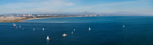 San Diego Harbour Stock Photo