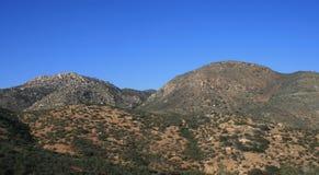 San Diego Hills Royalty-vrije Stock Foto's