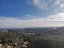 San Diego Hills stockfotos