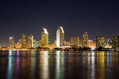 San Diego horisont Royaltyfri Fotografi