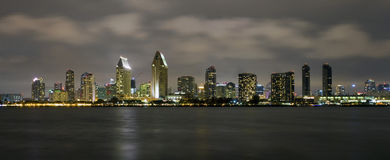 San Diego horisont Royaltyfria Foton