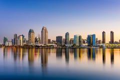 San Diego horisont Arkivbilder