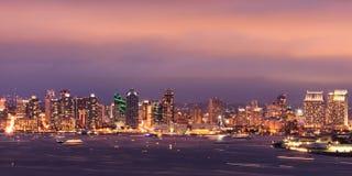 San Diego im Stadtzentrum gelegen Stockbilder
