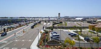 San Diego International Airport - SAN DIEGO - CALIFORNIA - 21 de abril de 2017 Fotos de archivo