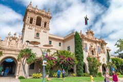 SAN DIEGO - JULY 30, 2017: Balboa Park Visitors Center. This is royalty free stock photo