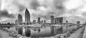 SAN DIEGO - JULY 29, 2017: Beautiful panoramic view of San Diego royalty free stock photos