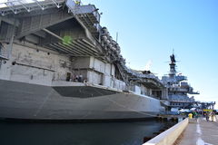San Diego, Kalifornia Dec 04,2016 - USS Midway muzeum - usa - Fotografia Stock