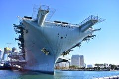 San Diego, Kalifornia Grudzień 04, 2016: - usa - USS samolot M Zdjęcie Stock