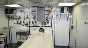 SAN DIEGO, Kalifornia, usa - Marzec 13, 2016: USS Midway w San Diego schronieniu, usa Fotografia Stock