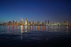 San Diego Kalifornien horisont Arkivbild