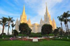 San Diego Kalifornien tempel Fotografering för Bildbyråer