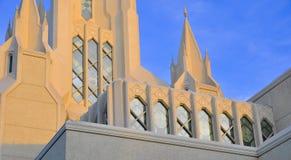 San Diego Kalifornien tempel Arkivbild