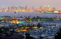 San Diego la Californie Photographie stock