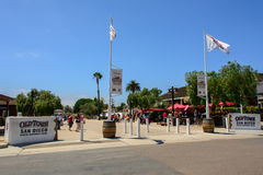 San Diego, la Californie, Etats-Unis - 2 juillet 2015 : Entrée principale à la ville historique de San Diego, la Californie photos libres de droits