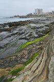 San Diego La Jolla Rocky Coast Imagen de archivo libre de regalías