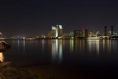 San Diego la nuit Images stock