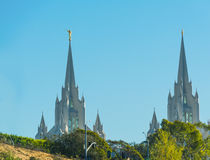 San Diego LDS church Stock Images
