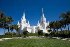 San Diego LDS Temple Royalty Free Stock Photo