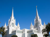 San Diego LDS Temple Stock Image