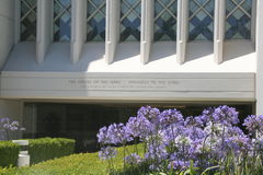 San Diego LDS Temple. San Diego Temple of the Church of Jesus Christ of Latter-day Saints, California, USA Stock Photo