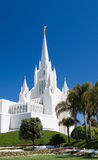 San Diego LDS Temple East Spire Stock Image