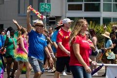 San Diego LGBT dumy parada 2017 Zdjęcia Royalty Free