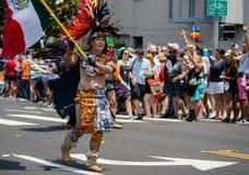 San Diego LGBT dumy parada 2017 Obrazy Royalty Free