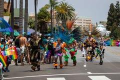 San Diego LGBT dumy parada 2017 Zdjęcia Stock