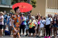 San Diego LGBT dumy parada 2017 Fotografia Royalty Free