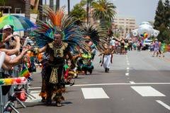 San Diego LGBT dumy parada 2017 Obraz Stock
