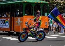 San Diego LGBT dumy parada 2017 Zdjęcie Royalty Free