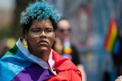 San Diego LGBT dumy parada 2017 Obraz Royalty Free