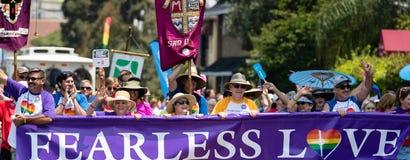 San Diego LGBT stolthet ståtar 2017 Royaltyfri Bild