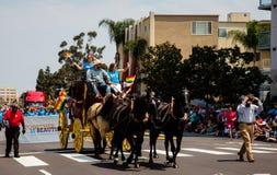 San Diego LGBT stolthet ståtar 2017 Arkivbilder