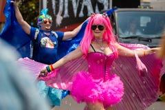San Diego LGBT stolthet ståtar 2017 Royaltyfria Bilder