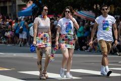 San Diego LGBT stolthet ståtar 2017 Royaltyfri Foto