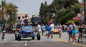 San Diego LGBT stolthet ståtar 2017 Arkivfoton