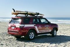 San Diego Lifeguard Royalty Free Stock Photography