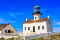 San Diego Lighthouse Royaltyfri Bild