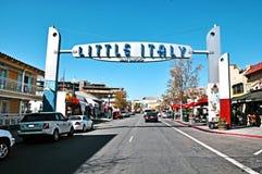 San Diego Little Italy Arkivfoto