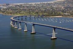 San Diego lo accoglie favorevolmente fotografia stock