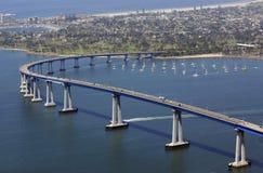 San Diego lo accoglie favorevolmente Fotografia Stock Libera da Diritti